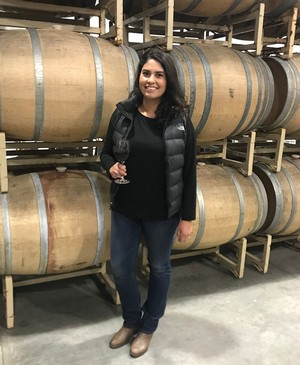 Belen Ceja, Winemaker for Aldina Vineyards